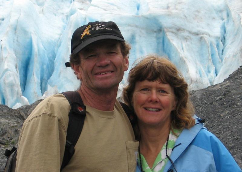 Kim Roberts and Chris Dourley